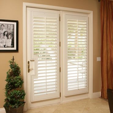 Patio French Door Shutters Honolulu